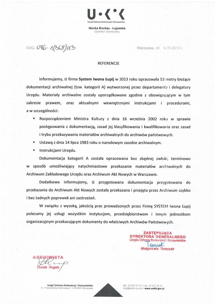 Urząd Ochrony Konkurencji i Konsumentów